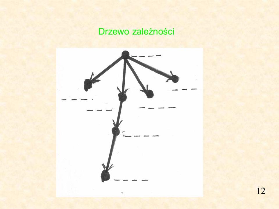 12 Drzewo zależności
