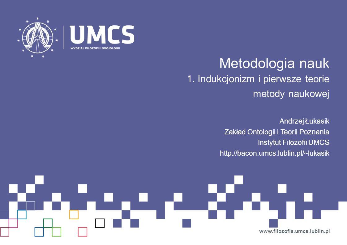 Metodologia nauk 1.