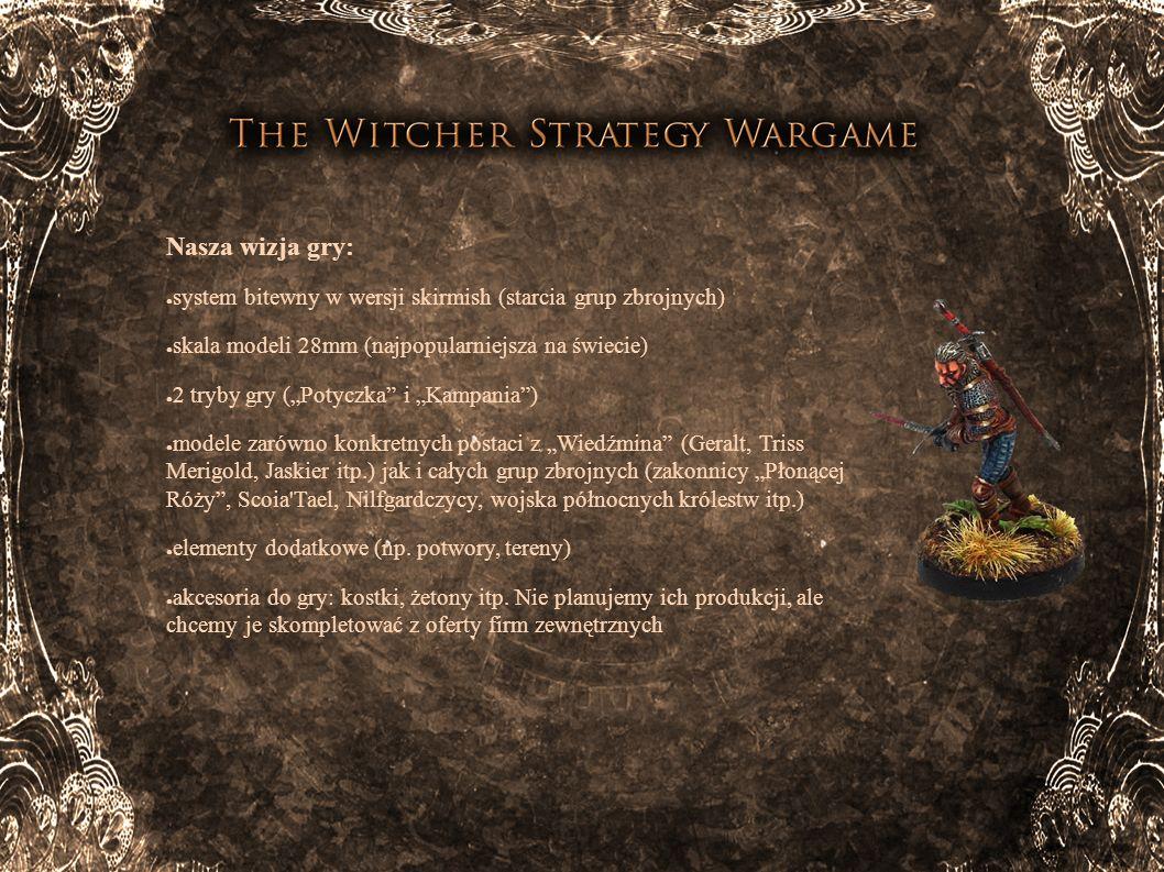 Ogólny zarys gry: Planujemy wydać grę w 2 wersjach (obie z zastosowaniem tej samej mechaniki).