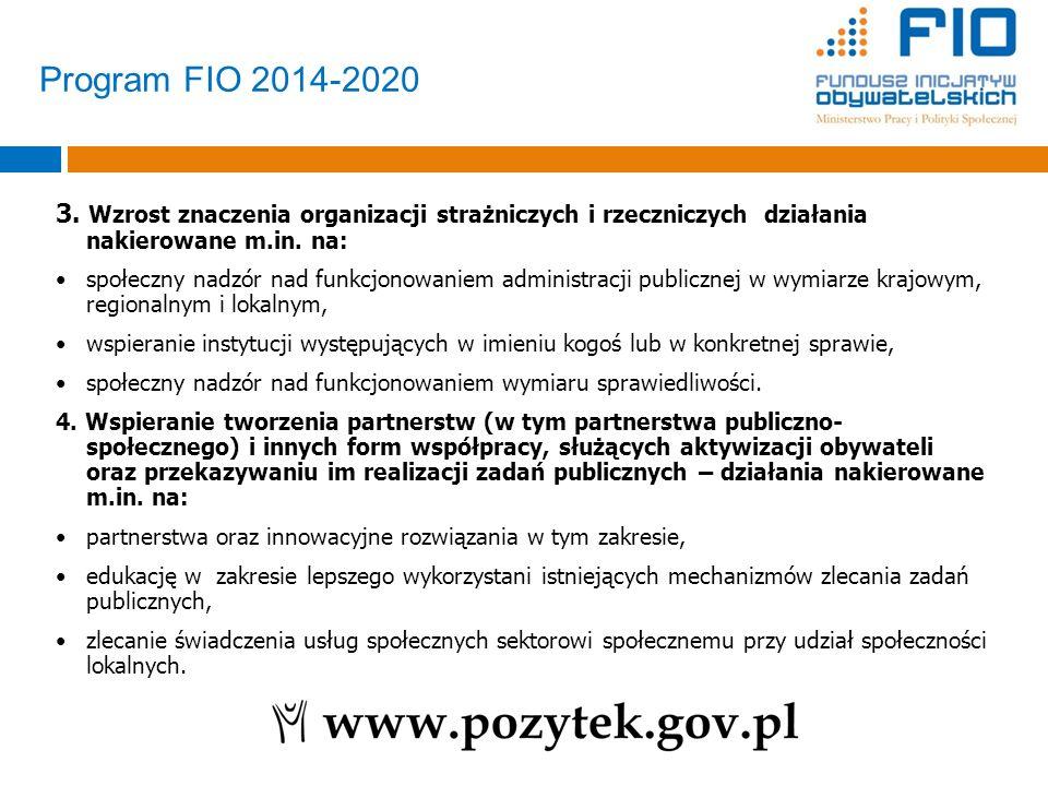 3. Wzrost znaczenia organizacji strażniczych i rzeczniczych działania nakierowane m.in. na: społeczny nadzór nad funkcjonowaniem administracji publicz