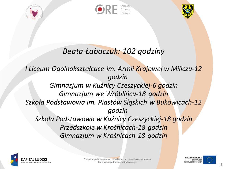 Informacje o projekcie www.pceipp.pl www.milicz-powiat.pl 29