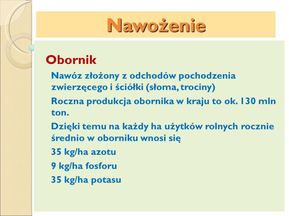 Nawożenie Nawozy saletrzane Saletra wapniowa Ca(NO 3 ) 2 – nawóz jasnoszary, granulowany, fizjologicznie zasadowy, ze względu na wysokie koszty wytwarzania produkowana jest w małej ilości, wykorzystywana głównie w ogrodnictwie i jako komponent nawozów wieloskładnikowych, zawiera 15,5% N.