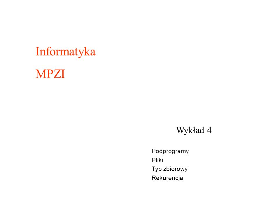 program zbiory; type miesiace = set of 1..12 ; var v, x, y, z: miesiace ; lit: char ; begin x :=[1..12] ; {cały rok} y := [1..6] ; {pierwsze półrocze} z := [1, 3, 5, 7, 8, 10, 12] ; {miesiące posiadające 31 dni} lit := a ; if x<>y then writeln( tak ) else writeln( nie );{tak} if x<=y then writeln( tak ) else writeln( nie ); {nie} if x>=y then writeln( tak ) else writeln( nie ); {tak} if x = y then writeln( tak ) else writeln( nie ); {nie} if 1 in x then writeln( tak ) else writeln( nie ); {tak} if 9 in z then writeln( tak ) else writeln( nie ); {nie} if lit in [ a .. z ] then writeln( tak ) else writeln( nie ); {tak} readln; end.