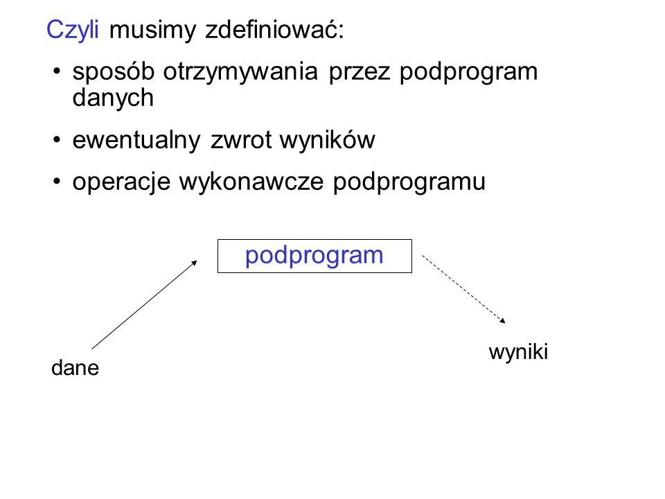 Kolejność operacji plikaowych: 1.skojarzenie zmiennej plikowej z plikiem fizycznym 2.otwarcie pliku (do zapisu lub odczytu) 3.operacje (czytanie, zapis) 4.zamknięcie !!!