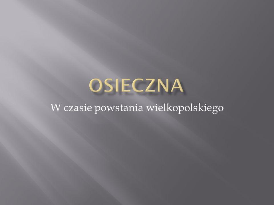 W czasie powstania wielkopolskiego