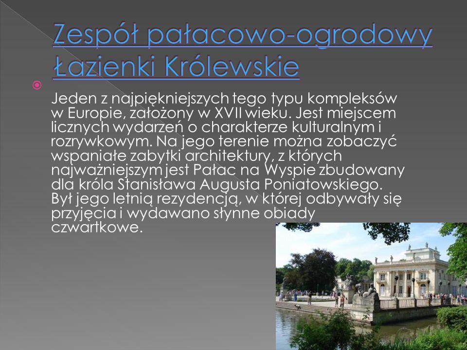 Jeden z najpiękniejszych tego typu kompleksów w Europie, założony w XVII wieku. Jest miejscem licznych wydarzeń o charakterze kulturalnym i rozrywkowy