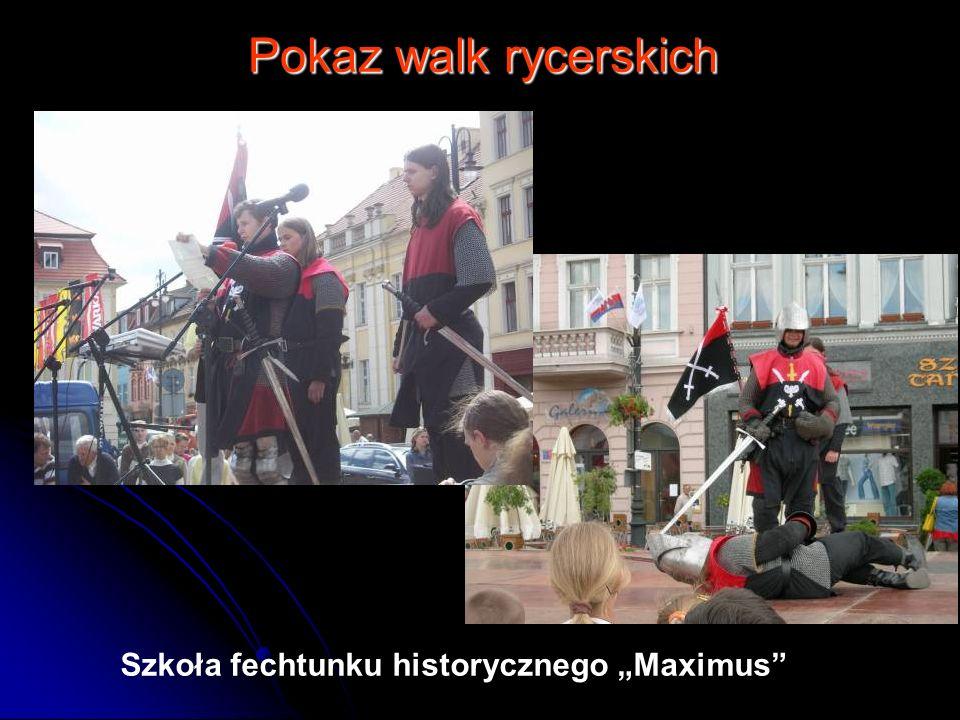Pokaz walk rycerskich Szkoła fechtunku historycznego Maximus