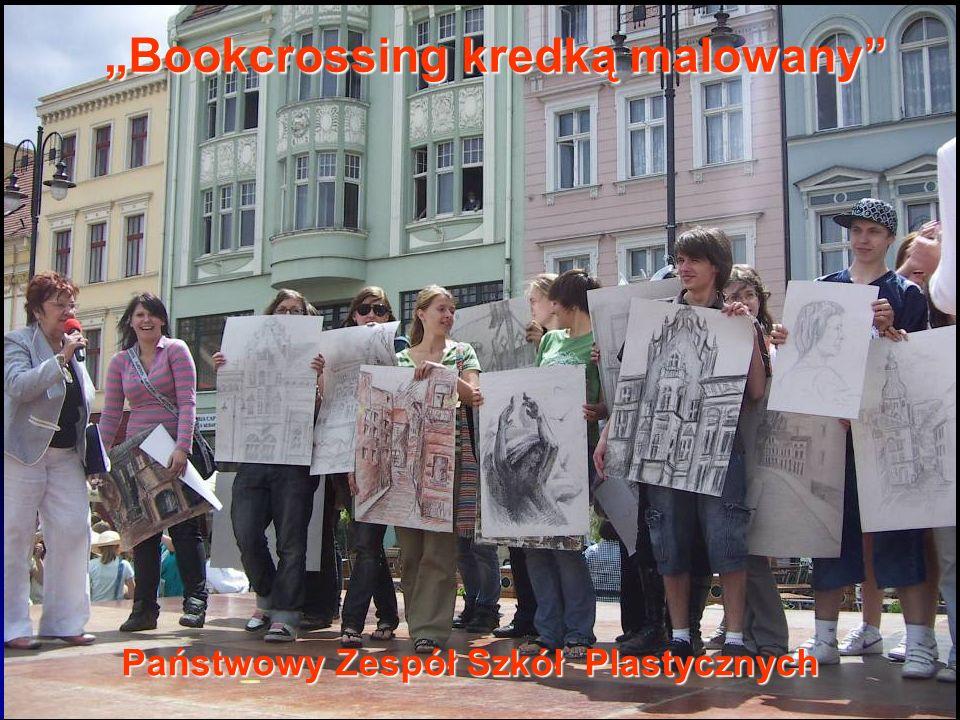 Państwowy Zespół Szkół Plastycznych Bookcrossing kredką malowany