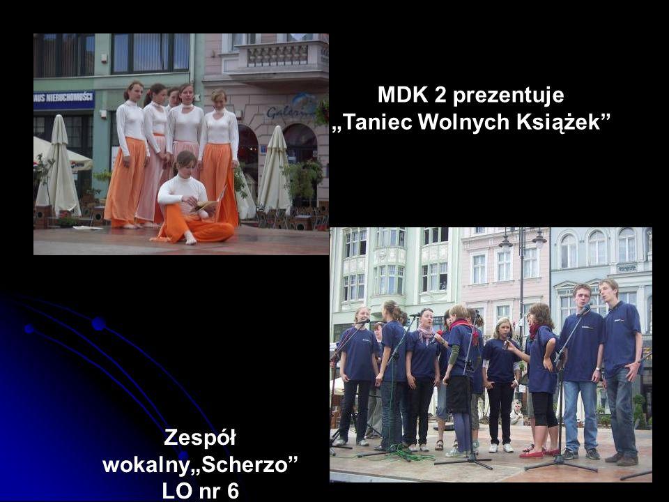 MDK 2 prezentuje Taniec Wolnych Książek Zespół wokalnyScherzo LO nr 6