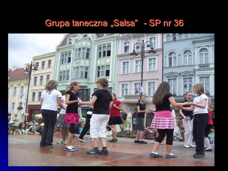 Grupa taneczna Salsa - SP nr 36