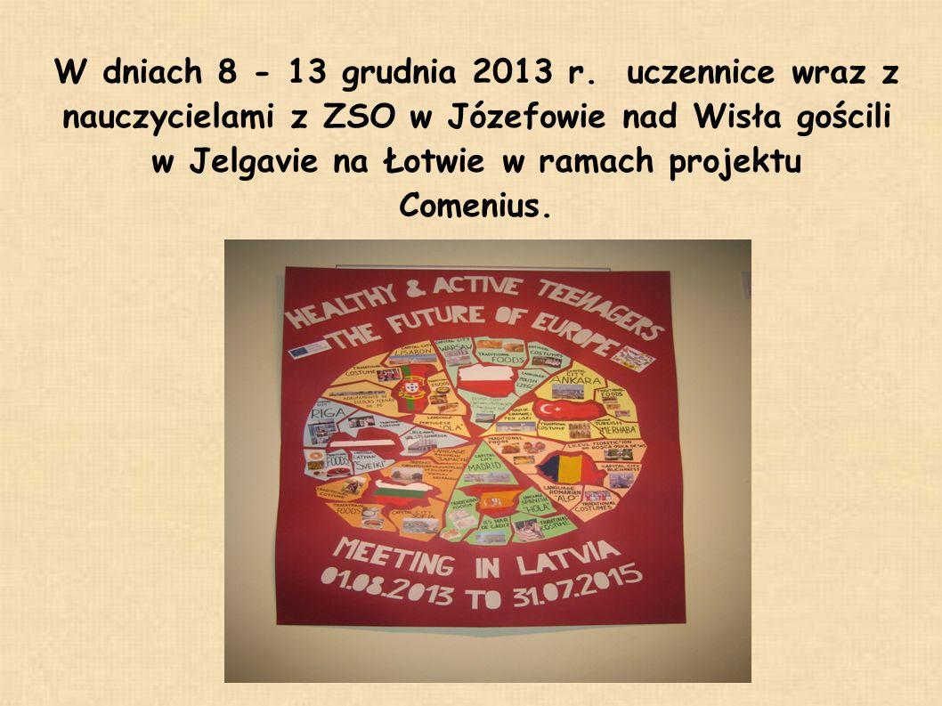 W projekcie brali udział uczniowie z 6 państw: Łotwy, Polski, Portugalii, Turcji, Bułgarii i Rumunii.