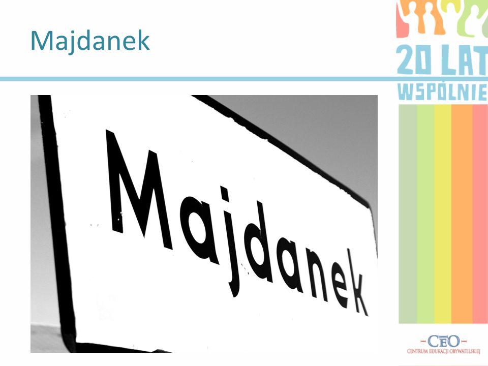 Majdanek – wieś położona w północnej części gminy Tomaszów Lubelski w obrębie Roztocza. Miejscowość jako wieś istnieje stosunkowo krótko i powstała za