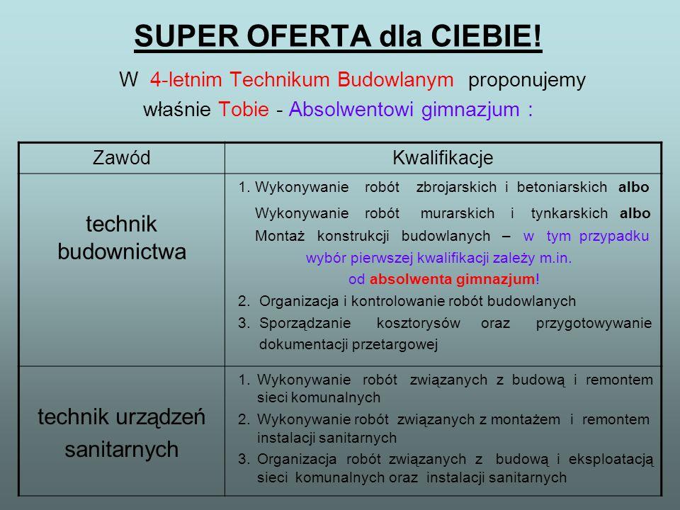 SUPER OFERTA dla CIEBIE.
