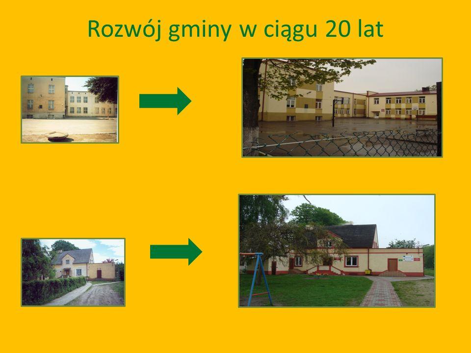 Rozwój gminy w ciągu 20 lat