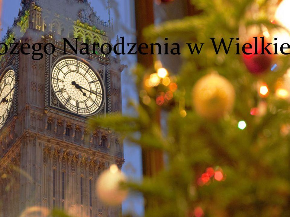 Święta Bożego Narodzenia w Wielkiej Brytanii