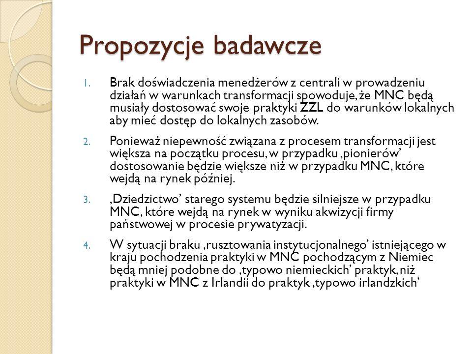 Propozycje badawcze cd.5.