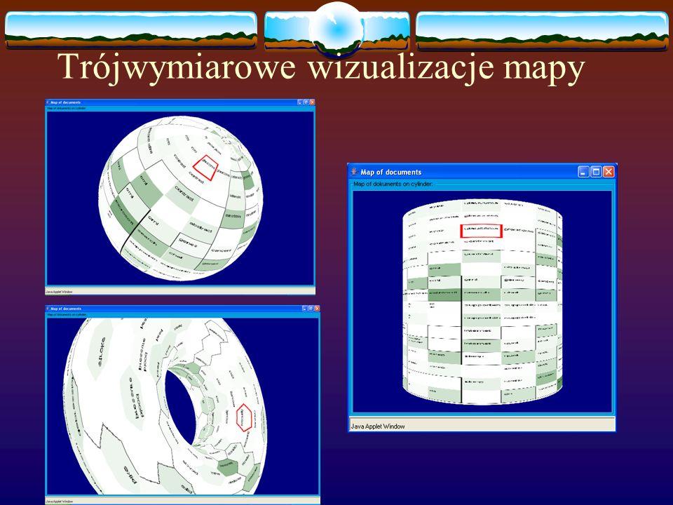 Trójwymiarowe wizualizacje mapy