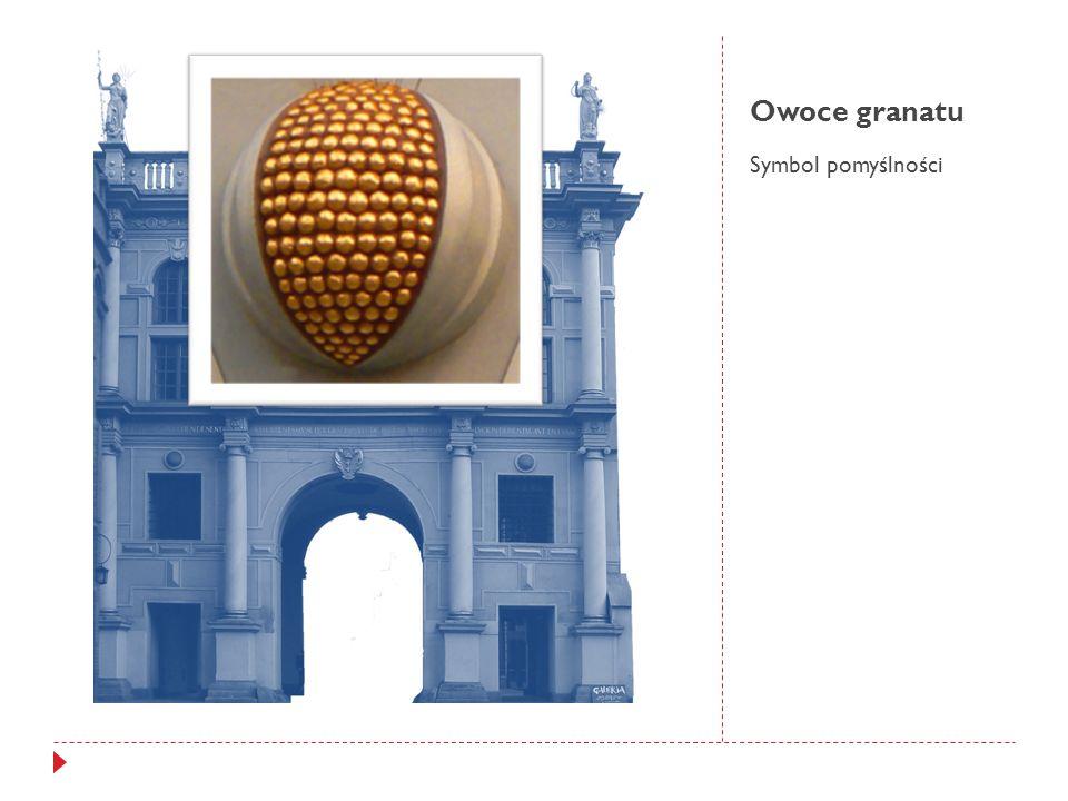 Owoce granatu Symbol pomyślności