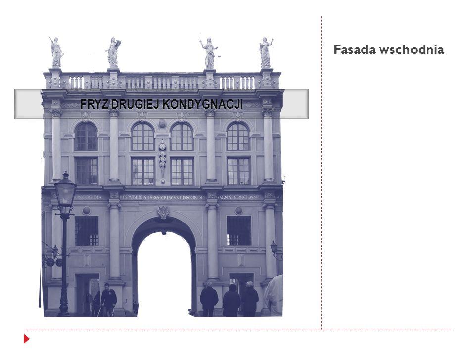 Fasada wschodnia FRYZ DRUGIEJ KONDYGNACJI