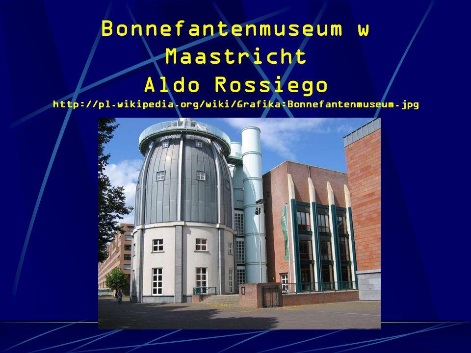Bonnefantenmuseum w Maastricht Aldo Rossiego http://pl.wikipedia.org/wiki/Grafika:Bonnefantenmuseum.jpg