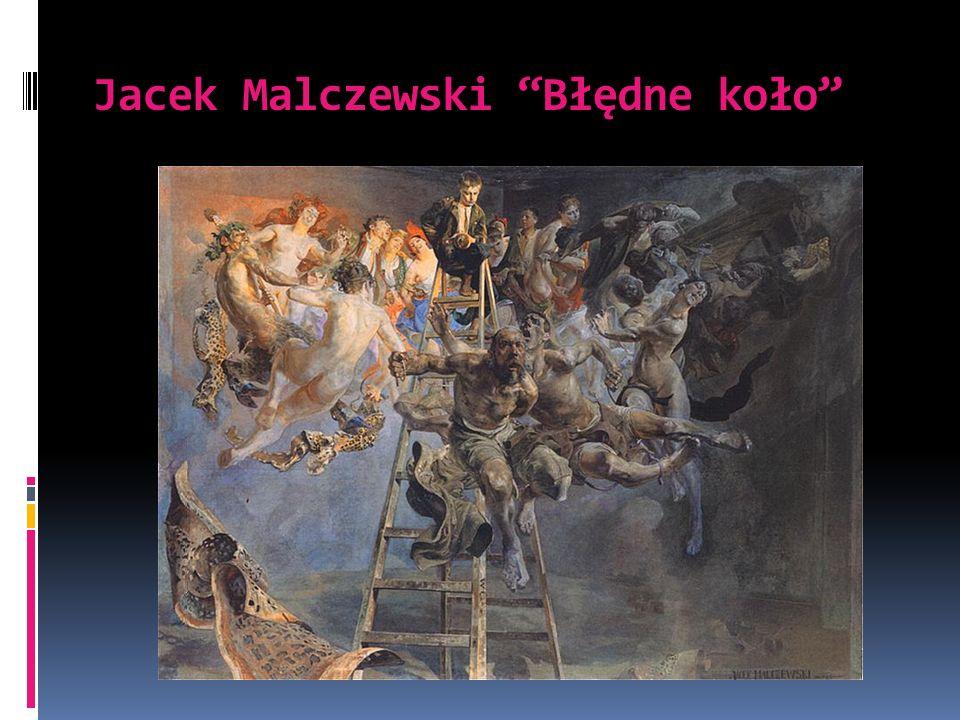 Jacek Malczewski Błędne koło
