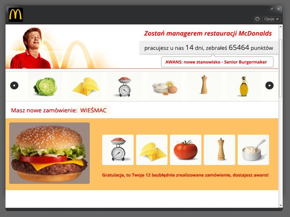 Propozycja aplikacji McDonalds Wariant 2.