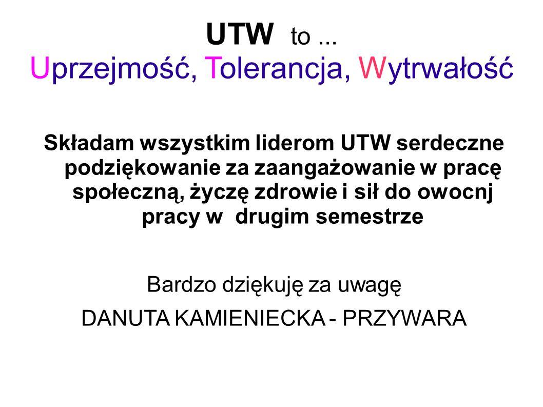 UTW to...