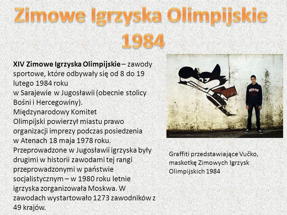 XIV Zimowe Igrzyska Olimpijskie – zawody sportowe, które odbywały się od 8 do 19 lutego 1984 roku w Sarajewie w Jugosławii (obecnie stolicy Bośni i He