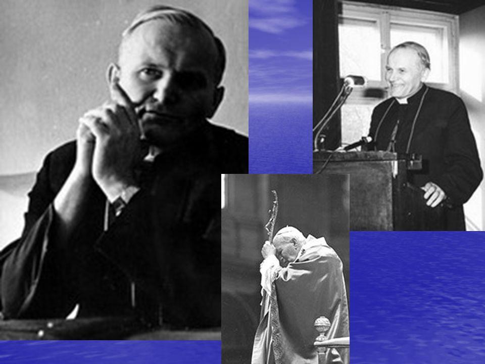 Biskup i kardynał Od 14 marca 2004 roku pontyfikat Jana Pawła II jest uznawany za najdłuższy, po pontyfikacie Świętego Piotra oraz bł. Piusa IX. Był p