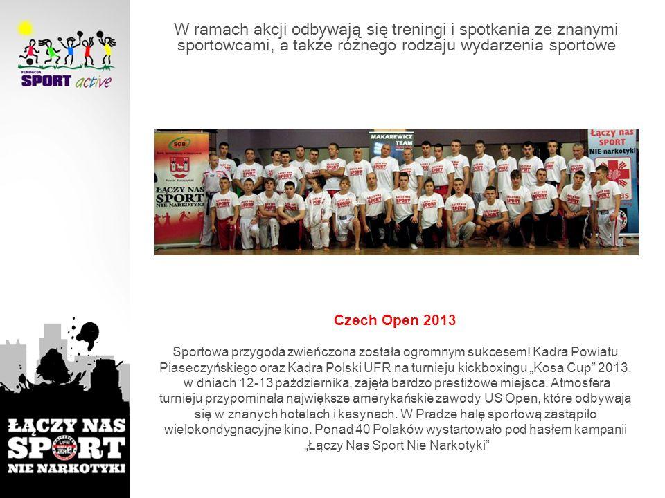 Czech Open 2013 Sportowa przygoda zwieńczona została ogromnym sukcesem! Kadra Powiatu Piaseczyńskiego oraz Kadra Polski UFR na turnieju kickboxingu Ko