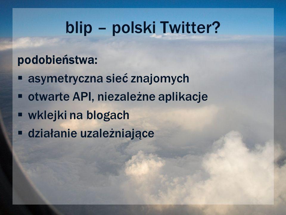 blip – polski Twitter.