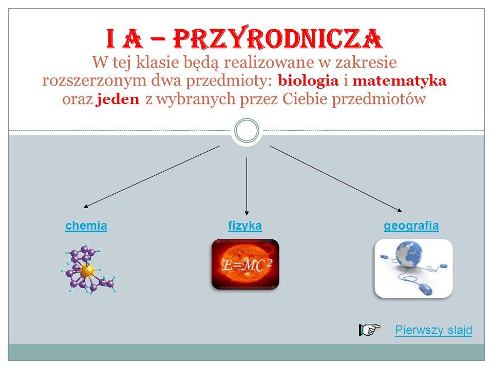 Ten układ przedmiotów realizowanych w zakresie rozszerzonym jest możliwy przy wyborze klasy IB W systemie klasowym realizowane w zakresie rozszerzonym będą język polski i wiedza o społeczeństwie a wybrana przez Ciebie biologia w grupie międzyoddziałowej.