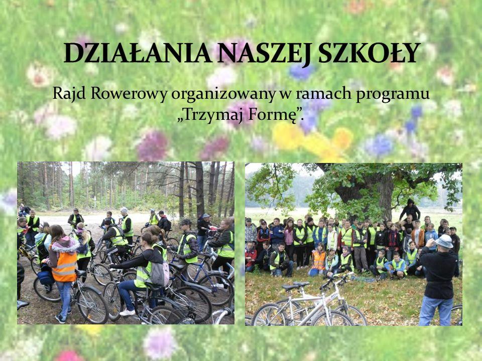 Rajd Rowerowy organizowany w ramach programu Trzymaj Formę.