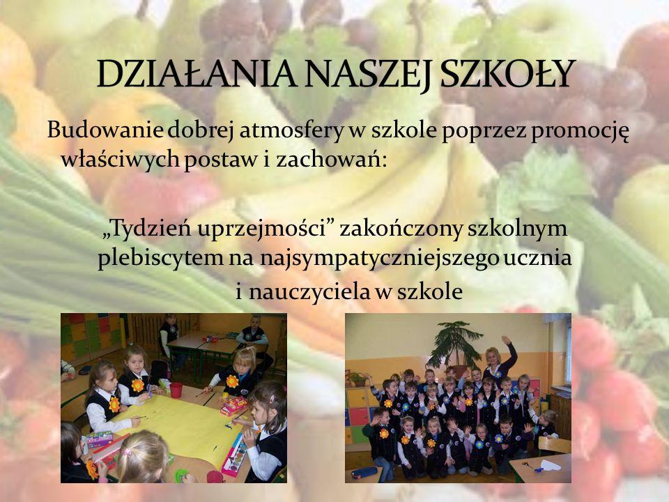 Budowanie dobrej atmosfery w szkole poprzez promocję właściwych postaw i zachowań: Tydzień uprzejmości zakończony szkolnym plebiscytem na najsympatycz