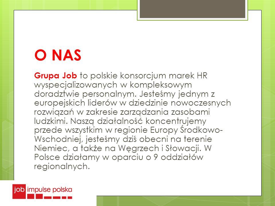 O NAS Grupa Job to polskie konsorcjum marek HR wyspecjalizowanych w kompleksowym doradztwie personalnym. Jesteśmy jednym z europejskich liderów w dzie
