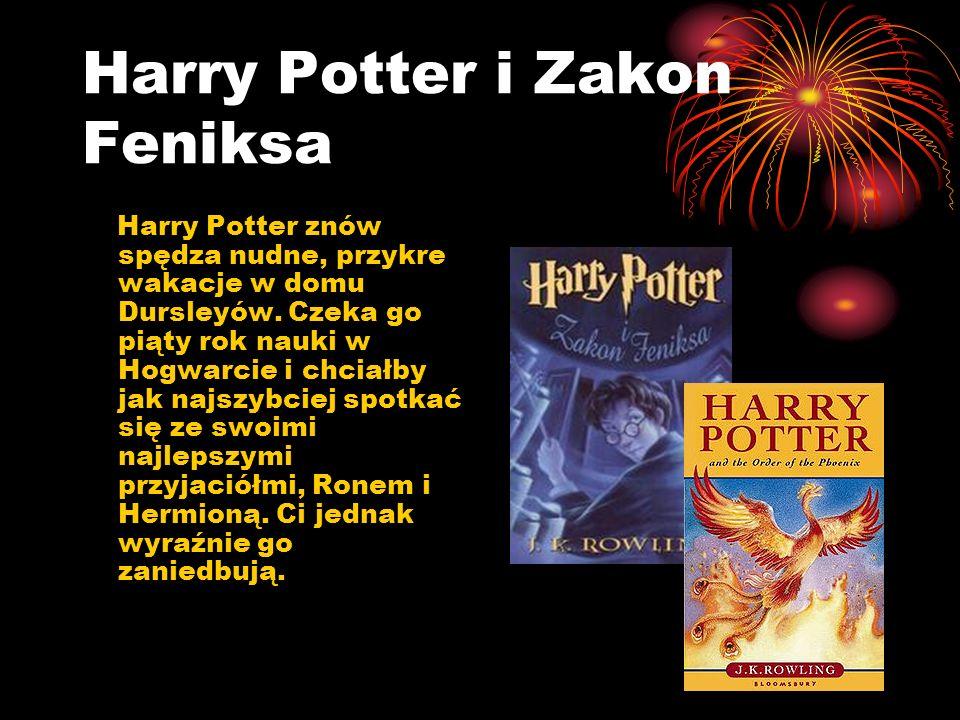 Harry Potter i Książę Półkrwi Po nieudanej próbie przechwycenia przepowiedni Lord Voldemort jest gotów uczynić wszystko, by zawładnąć światem czarodziejów.