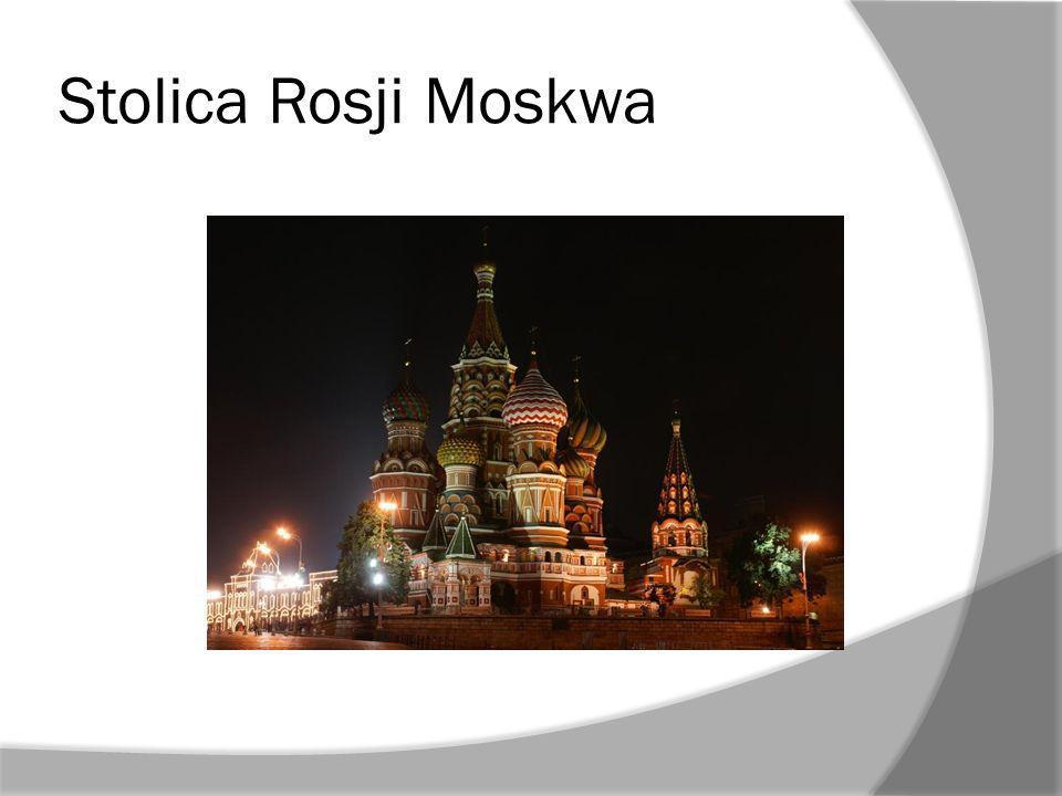 Stolica Rosji Moskwa
