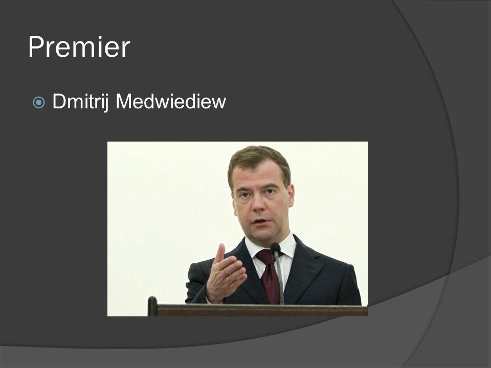 Premier Dmitrij Medwiediew