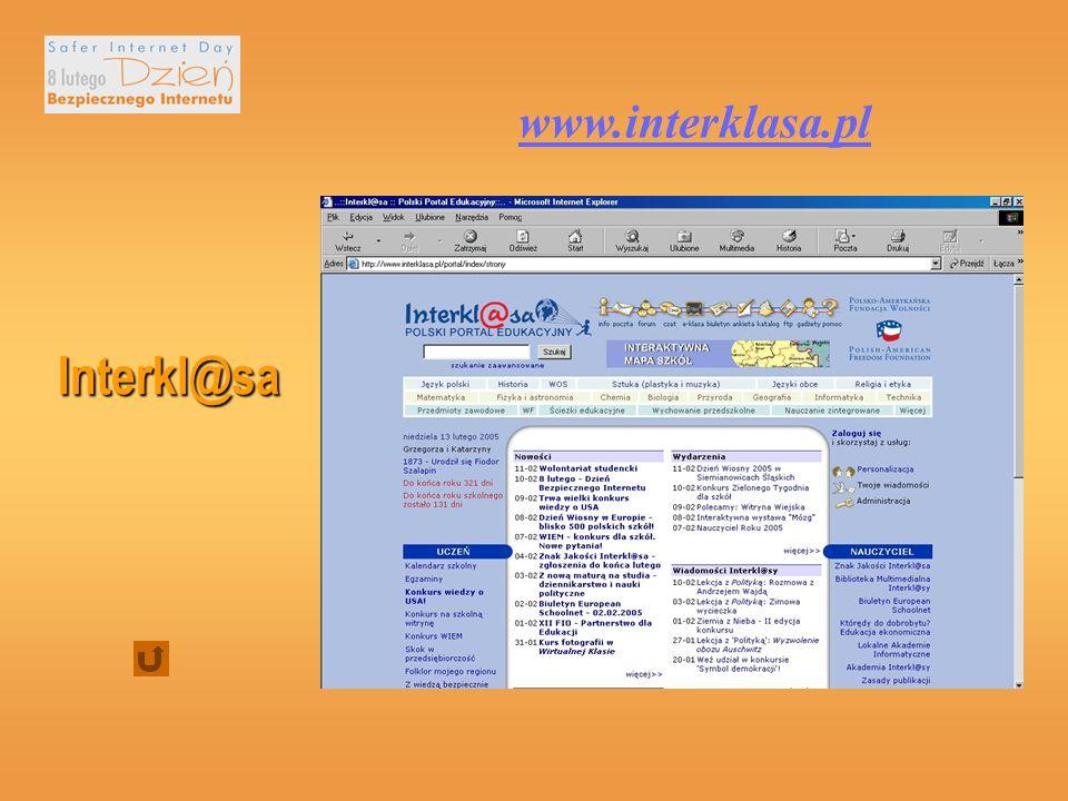 Interkl@sa www.interklasa.pl