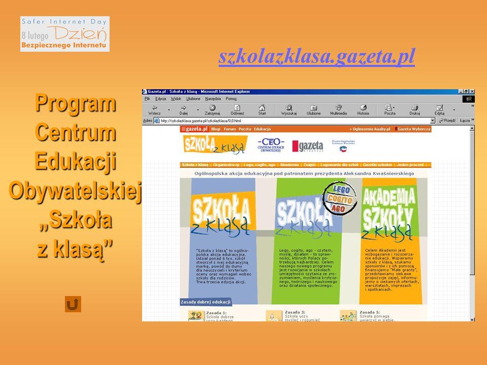 Korzystanie z Internetu pozwala na: zdobywanie wiadomości z różnych dziedzin, doskonalenie umiejętności językowych pozwala na czytanie lektur szkolnych, przesyłanie dokumentów (plików) np.