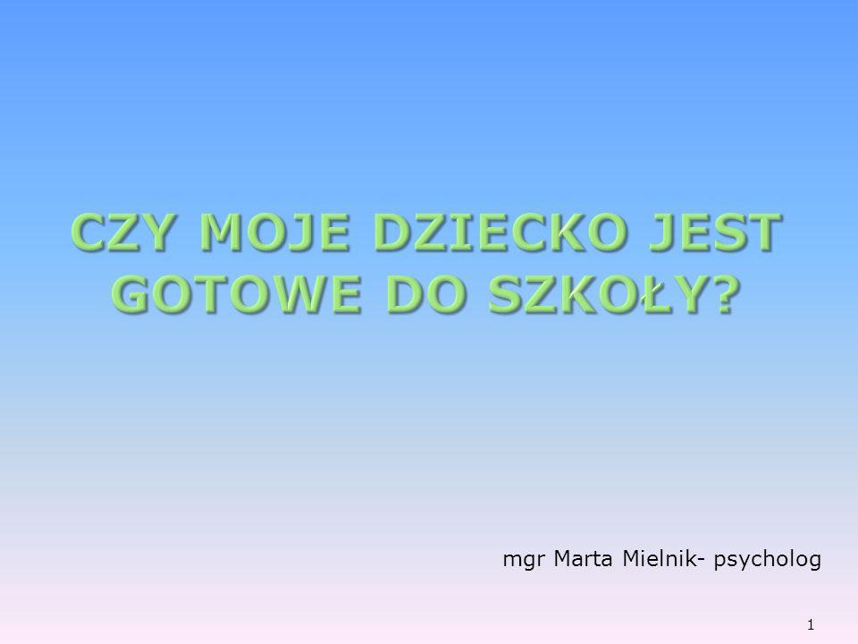 mgr Marta Mielnik- psycholog 1