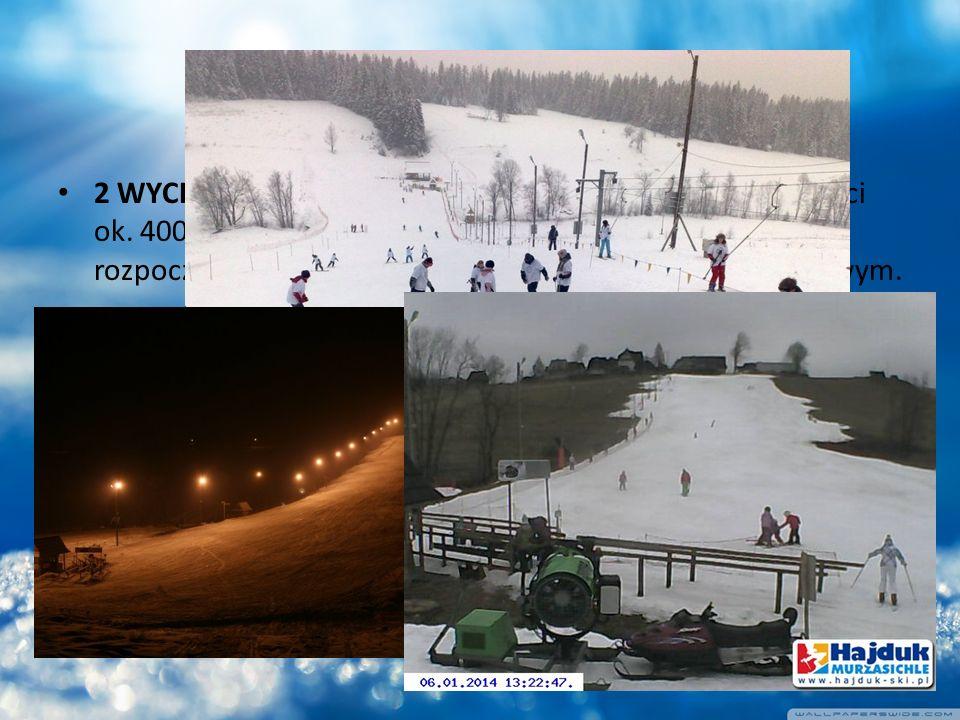u HAJDUKA 2 WYCIĄGI NARCIARSKIE: duży z trasą narciarską o długości ok.