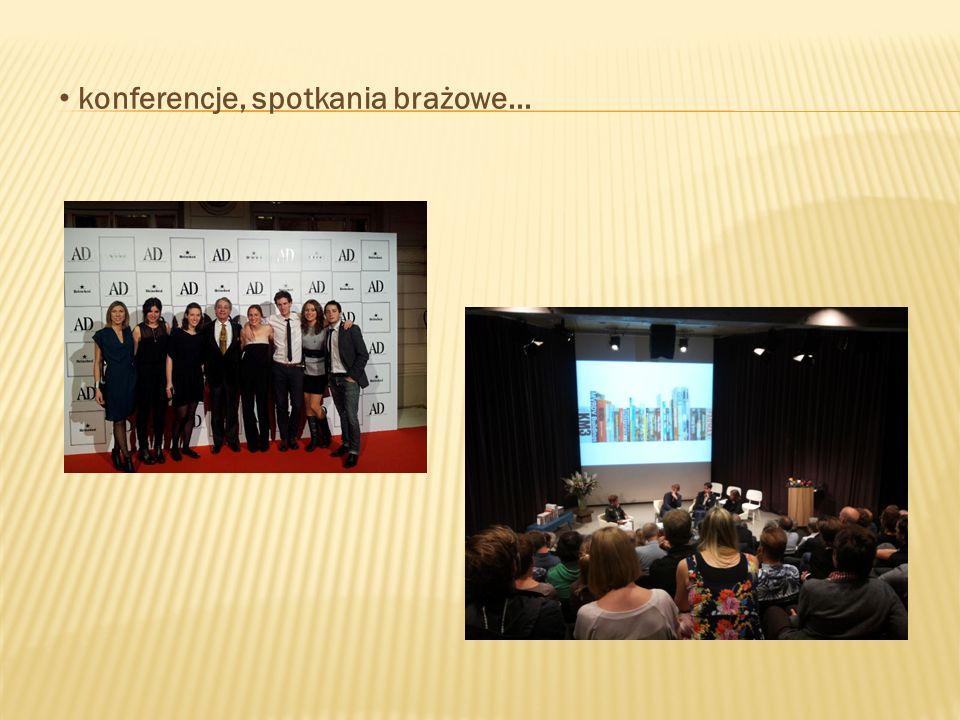 konferencje, spotkania brażowe...