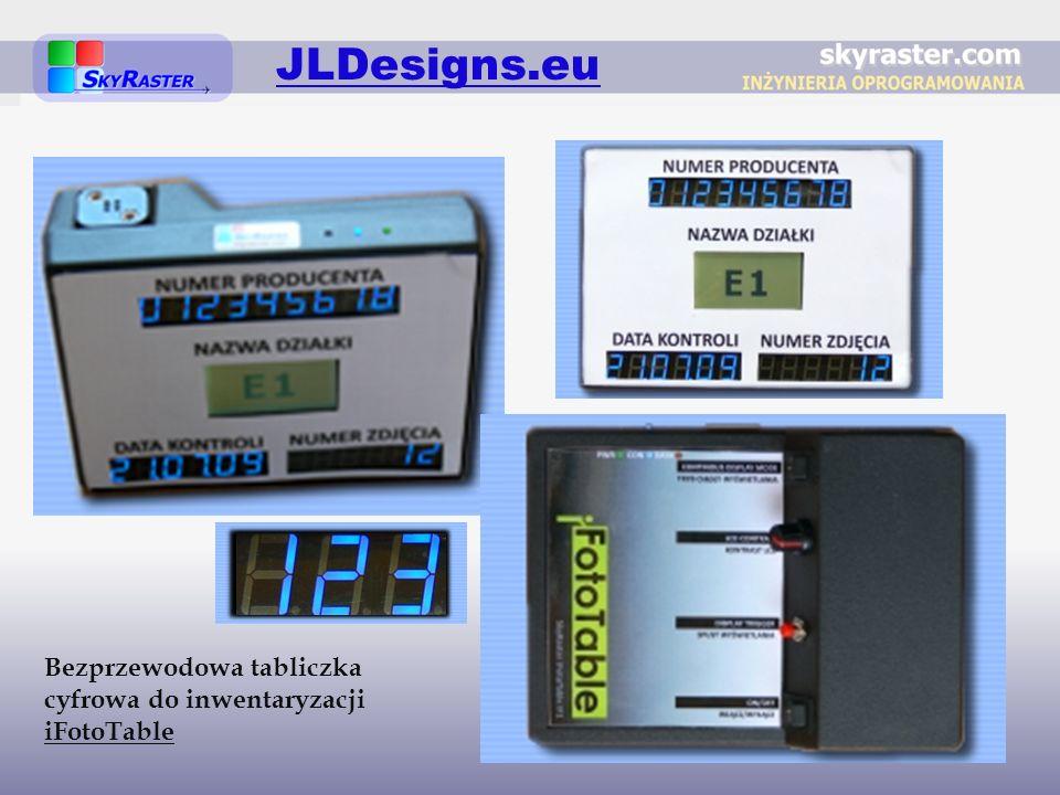 JLDesigns.eu Bezprzewodowa tabliczka cyfrowa do inwentaryzacji iFotoTable
