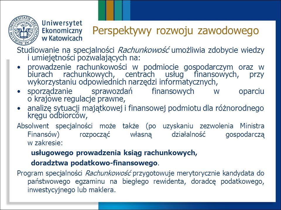 Przekazanie studentom wiedzy i praktycznych umiejętności z zakresu: zasad gromadzenia informacji o sytuacji majątkowej i finansowej podmiotu gospodarczego w systemie kont księgowych, zasad ustalania wyniku finansowego, rachunkowości jednostek w szczególnych sytuacjach, zasad sporządzania sprawozdań finansowych i ich analizy, wykorzystania narzędzi informatycznych w rachunkowości.