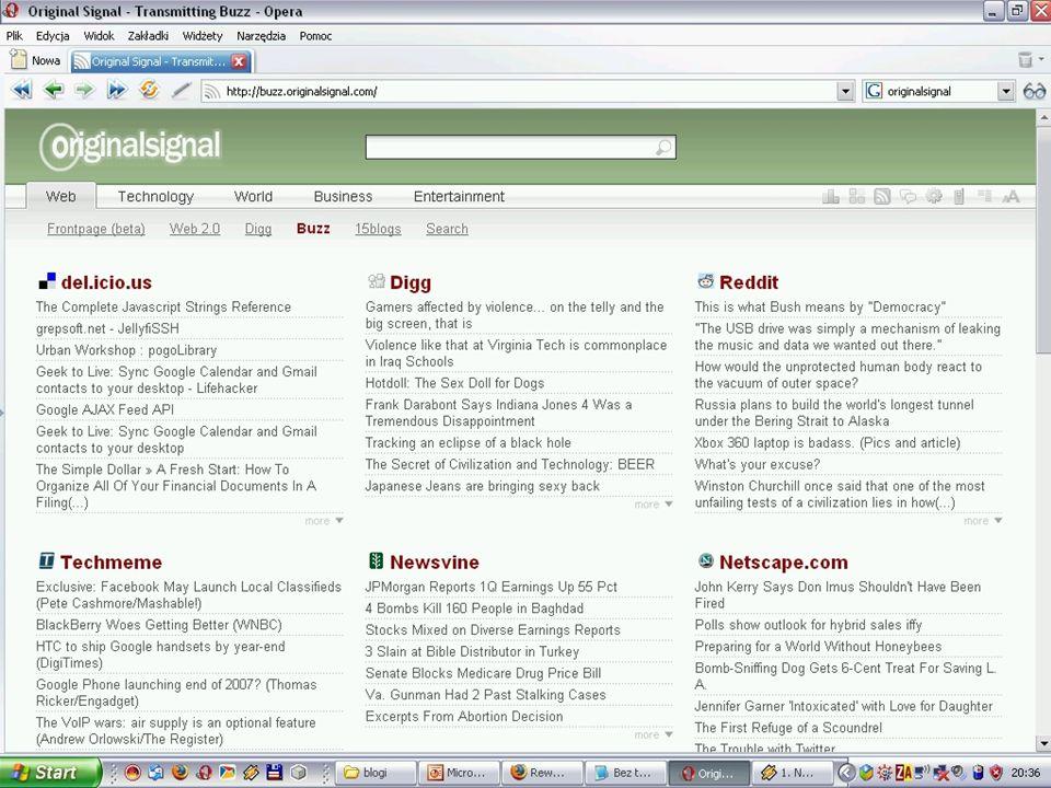 Rewolucja w komunikacji III Blogi | Jak szukać?