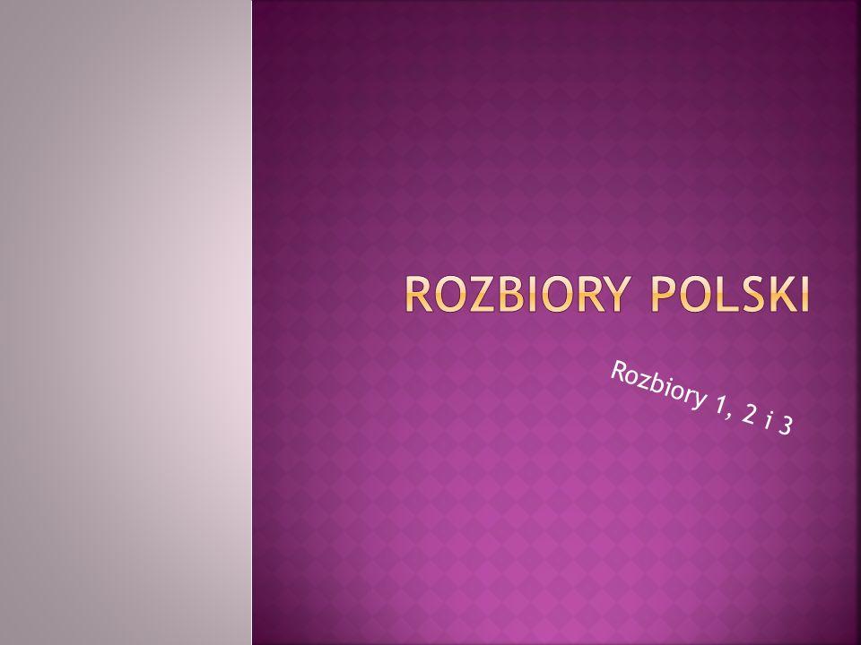 Przyczyna rozbiorów: - niezdolność kraju do reform mogących wzmocnić siłę militarną Polski.