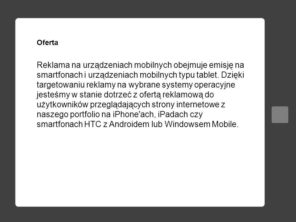 Apple iOS - dociera do użytkowników wszystkich iPhone ów, iPodów touch i tabletów iPad.