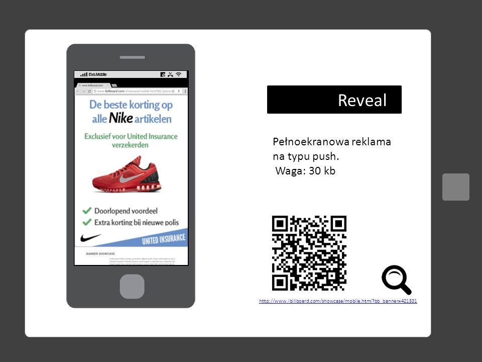 Przedstawiono ceny CPM w PLN netto Mobile channel: dowolny kanał tematyczny z ofert EMN Mobile Business: Biznesowe kanały tematyczne z oferty EMN Dopłata za targetowanie na system operacyjny +30% PAKIET MOBILEILOŚĆ ODSŁON DOUBLE BILLBOARD TRIPLE BILLBOARD INTERSTI- TIAL REVEAL mobile RON 1 000 00016 zł17 zł60 zł70 zł 2 000 00014 zł15 zł54 zł64 zł 5 000 00012 zł13 zł48 zł58 zł 10 000 00010 zł11 zł40 zł50 zł mobile channel 200 00035 zł40 zł90 zł100 zł 500 00030 zł35 zł84 zł94 zł 1 000 00025 zł30 zł72 zł82 zł mobile Business 200 00080 zł90 zł135 zł150 zł 500 00065 zł75 zł120 zł130 zł 1 000 00050 zł60 zł100 zł110 zł Cennik reklamowy