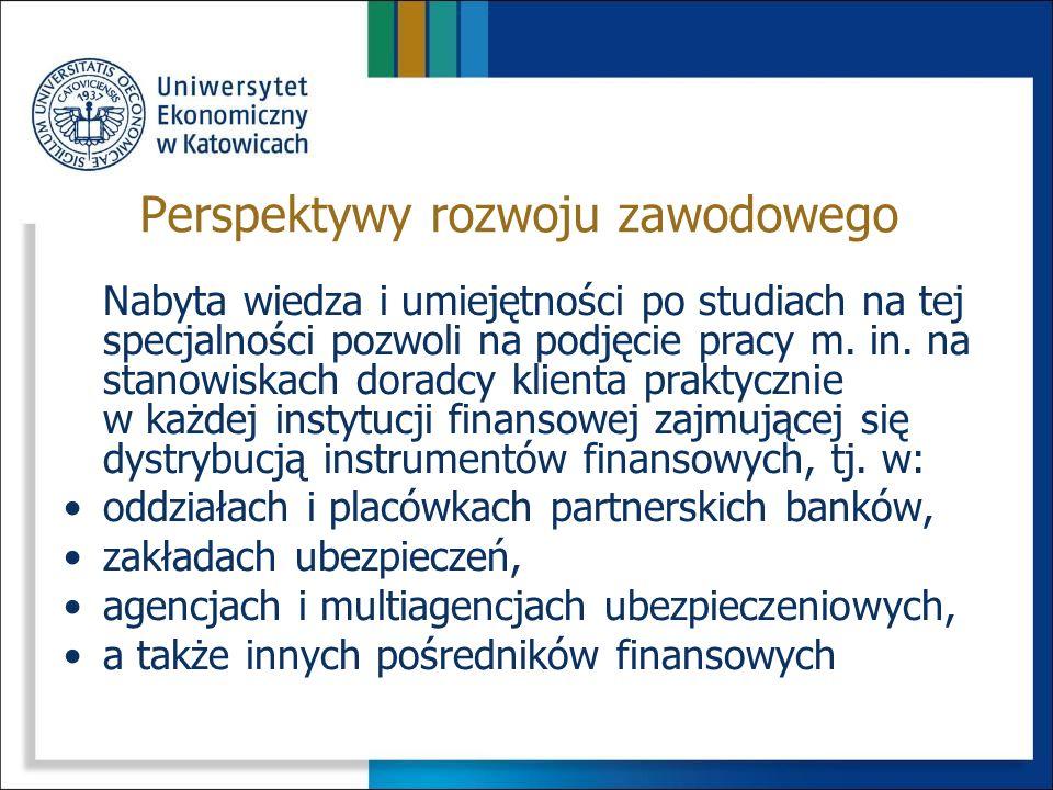 Studia na specjalności Doradztwo finansowe przyczynią się do poszerzenia ogólnej wiedzy finansowej, zdobywanej w ramach kształcenia na przedmiotach ki